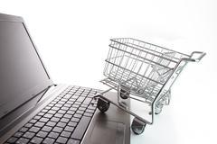Stock Illustration of online shopping concept