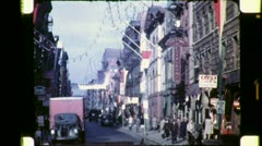 CHINATOWN New York City Late NYC 1940s Vintage Old Film Home Movie Footage 4763 Stock Footage