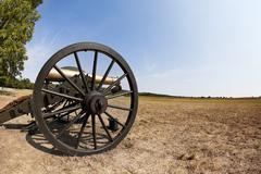 civil war cannon - stock photo