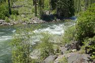 Stock Photo of whitewater river