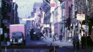 CHINATOWN New York City Late 1940s (Vintage Old Film Home Movie) 4764 Stock Footage