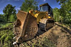 bulldozer - stock photo