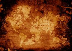 MAP - stock photo