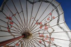 Shade parasol Stock Photos