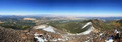 mount humphreys panorama - stock photo