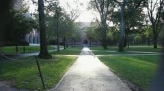 Harvard Campus Stock Footage