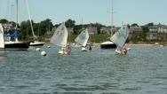Stock Video Footage of Opti racing; 3