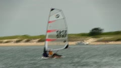 Sailboard - stock footage