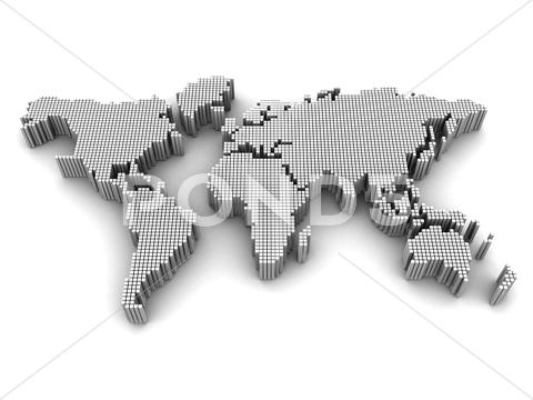 Stock Illustration of international map