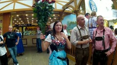 germany munich oktoberfest - stock footage