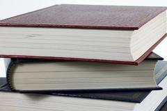 Stock Photo of old books