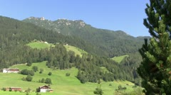 Austria - Tirol - Stubai valley - stock footage