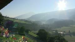 Austria - Tirol - Stubai valley - stock footage