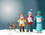 Stock Illustration of christmas carols
