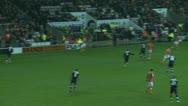 English football match Stock Footage