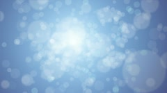 Flickering Particles Stock Footage
