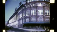 EBBETS FIELD Baseball Stadium NYC 1940s (Vintage 16mm Film Home Movie) 4782 Stock Footage