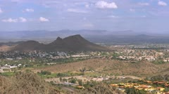 Stock Video Footage of Phoenix Suburb