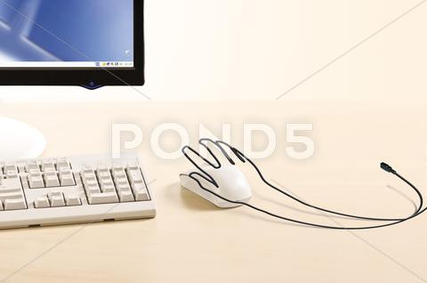 Stock Illustration of creative hand