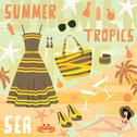 Stock Illustration of fashion set summer clothes