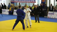 Stock Video Footage of Judo Championship.