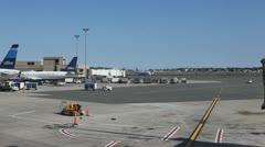 Boston Logan Airport Stock Footage