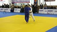 Judo Championship. Stock Footage