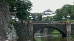Slide timelapse from the Tokyo Imperial Palace Stock Footage