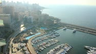 Stock Video Footage of Zaitunay Bay in Beirut, Lebanon