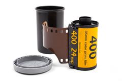 Stock Photo of Roll of photographic film