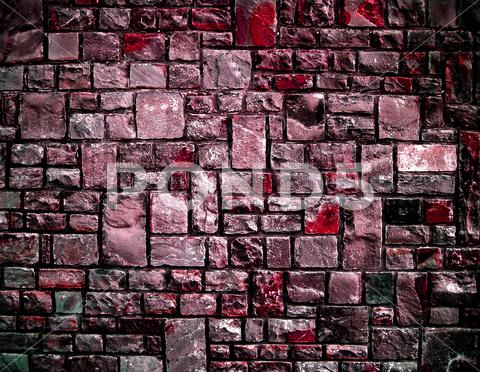 Stock photo of abstract wall pink