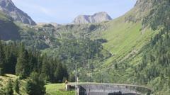 Austria - Tirol - Stubai Glacier (Cable car) - stock footage
