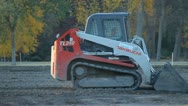 Compact Track Loader Stock Footage