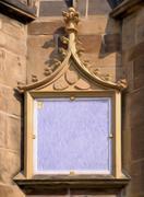 Stock Illustration of gothic frame oilpaint