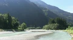 Austria Stubai Valley Stock Footage