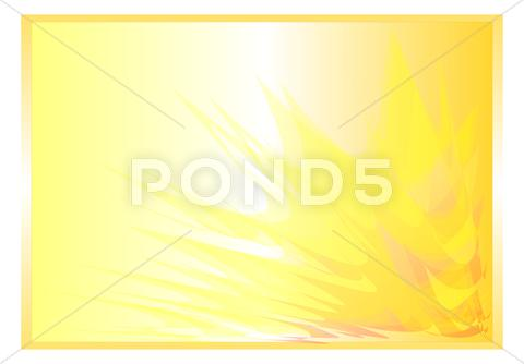 Stock Illustration of yellow background abstract rays