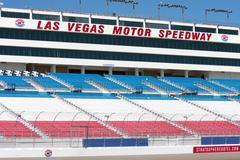 las vegas speedway grandstands - stock photo