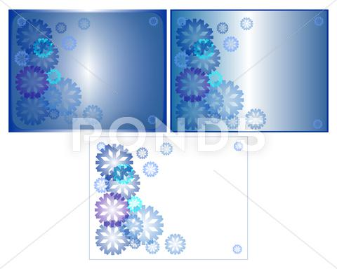 Stock Illustration of winter theme background