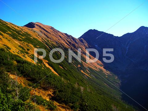 Stock photo of ridge mountains sk