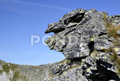 Stock photo of mountain spirit