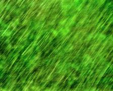 Green rain texture Stock Photos