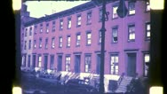 Tenement Chryster Tilt up Buildings NYC 1940s (Vintage Film Home Movie) 4825 Stock Footage