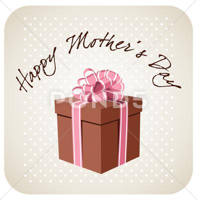 Stock Illustration of greetings for mother's day