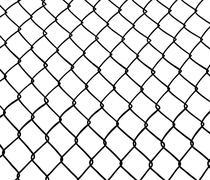 Chainlink fence. Stock Illustration