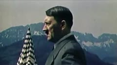 WW2-ColorFootage - Adolf Hitler Stock Footage