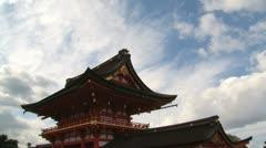 Fushimi Inar Temple timelapse Stock Footage