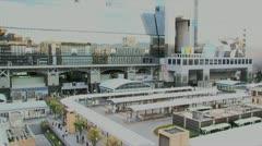 Kyoto station timelapse Stock Footage