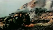 Stock Video Footage of WW2-ColorFootage - Pacific war landing operation