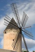 Stock Photo of Traditional spanish windmill