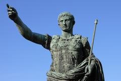 Roman emperor augustus Stock Photos